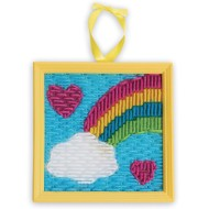 Rainbow Needlepoint (pack of 12) (makes 12)