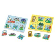 Nursery Rhyme Sound Puzzle Set (set of 3) (set of 3)