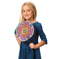 Color-Me™ Silky Fans (pack of 12) (makes 12)