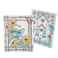 Paint-a-Dot™ Bird Scenes Craft Kit (makes 24) (makes 24)