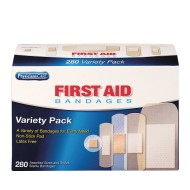 Bandage Variety Pack (box of 280) (box of 280)