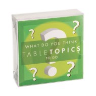 TABLETOPICS® To-Go What Do You Think? Card Game