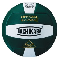 Tachikara® SV-5WSC Sensi-Tec® Micro-Fiber Composite Leather, Dark Green/White