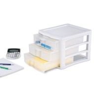 Sterilite® Storage Drawer And Paper Organizer