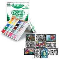 Crayola® Marker & Velvet Art Coloring Bundle (pack of 1)