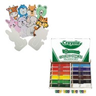 Crayola® Colored Pencil & Color-Me™ Bookmark Bundle (pack of 1)