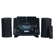 Supersonic® Audio Stereo System with Bluetooth, CD, AM/FM