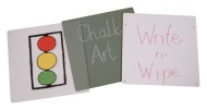 Write-n-Wipe Easel Panel - Double