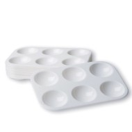 Plastic Paint Mixing Trays (pack of 12)