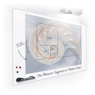 Elemental Frameless Dry Erase Board 2 x 3