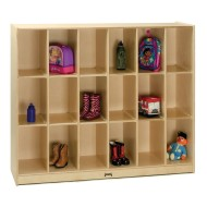 18-Cubbie Locker Storage