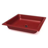 Easel Dip Tray with Plug