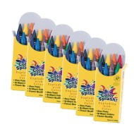 Color Splash!® Jumbo Crayons (pack of 48) (pack of 48)