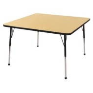 "Activity Table 48"" x 48"" Maple Top"