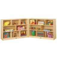 Jonti-Craft® Baltic Birch Super Size Fold-n-Lock Storage Unit