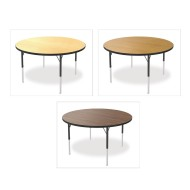 "Marco® Activity Tables, Wood Top, 48"" Round x 21-30""H"