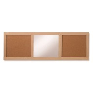 Whitney Plus Cork Boards and Mirror Panel