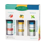 Essential Oil Sensory Daily Pack (set of 3) (set of 3)