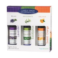 Essential Oil Sensory Lively Pack (set of 3) (set of 3)