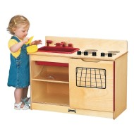 "Jonti-Craft® 2-in-1 Kinder-Kitchen, 30"" x 15"" x 23-1/2"""