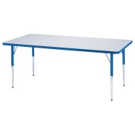 "Rainbow Accents® 30"" x 72"" Table, 24-31""H"