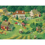 Back Yards Easy Handling Puzzle, 275 Pieces