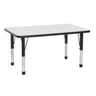 "Rectangular Dry Erase Activity Table, 30"" x 60"""