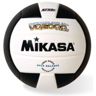 Mikasa® VQ2000 Competition Composite Indoor Volleyball, Black/White