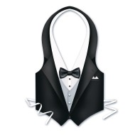 Tuxedo Vests (pack of 3) (pack of 3)