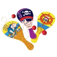 Pirate Paddle Balls (pack of 12) (pack of 12)