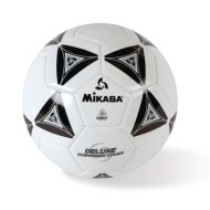 Mikasa® Soft Soccer Ball Size 3 Black/White