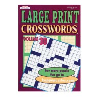 Large Print Word-Finds and Crosswords Book (pack of 12) (pack of 12)