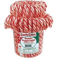 Candy Cane Bucket (pack of 60) (pack of 60)