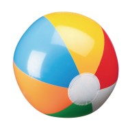 "Economy 12"" Beach Ball (pack of 12) (pack of 12)"