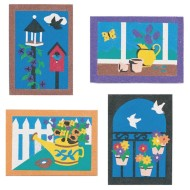 "Sand Art Boards 5""x7"" - Garden (pack of 12) (pack of 12)"