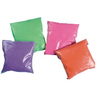 Fluorescent Sand 4-lbs. - 4 Colors (pack of 4)