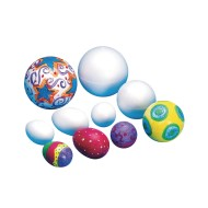"Foam Ball, 2-1/2"" (pack of 12)"