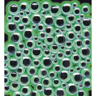 Glow-in-the-Dark Wiggly Eyes (pack of 100)