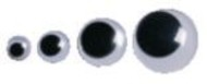 30mm Black Wiggly Eyes (pack of 100)
