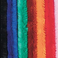 Colossal Chenille Stems/Pipe Cleaners - Assorted (pack of 50)