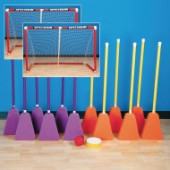 "Broomball Easy Pack, 42""L Brooms"