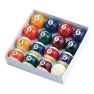 Regulation Billiard Ball Set (set of 16)