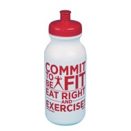 Commit to be Fit Water Bottle