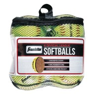 Franklin® Practice Softballs (pack of 4)