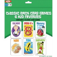 Classic Cards Game Pack (set of 6)
