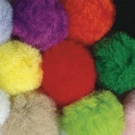 "Pom Poms, 2"" - Assorted Colors (pack of 50)"