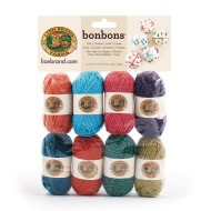 Bonbons® Mini Acrylic Yarn Pack - Metallic (pack of 8)