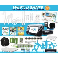 Wii™ Fit U Shape Group Fitness Pack for 6