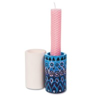 Color-Me™ Ceramic Bisque Candleholders (makes 12)