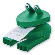 Unfinished Frog Note Holder, Unassembled (pack of 12)